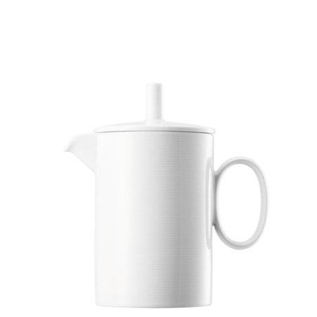 Loft Hvit Kanne med lokk 1,15 liter