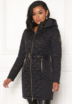 Chiara Forthi Sarraceno Quilted Jacket Black 44