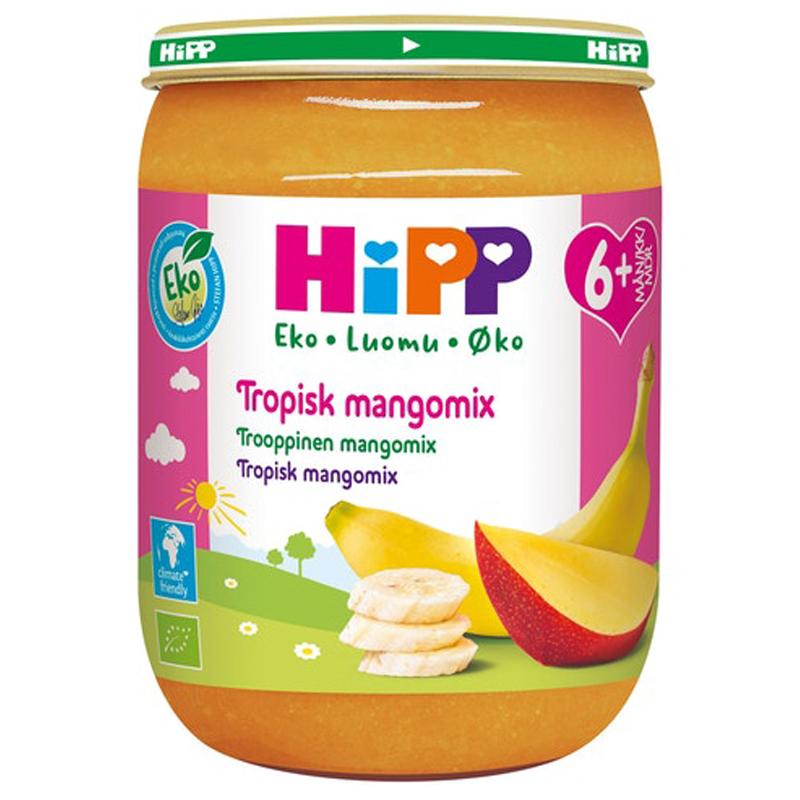 Eko Fruktpuré Tropisk Mangomix 6M - 12% rabatt