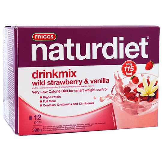 Drinkmix Smultron & Vanilj - 45% rabatt