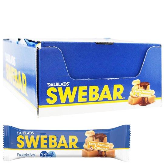 Proteinbars Salty Peanut & Caramel 20-pack - 40% rabatt