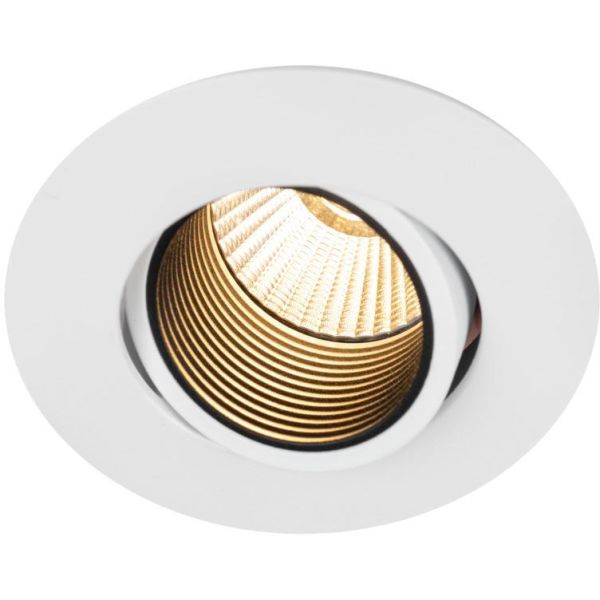 Hide-a-Lite Optic Focus Downlight-valaisin valkoinen, tune