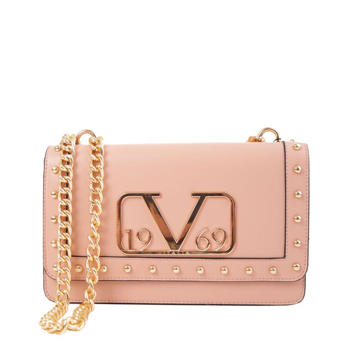 19v69 Italia Women's Shoulder Bag Various Colours 318683 - pink UNICA