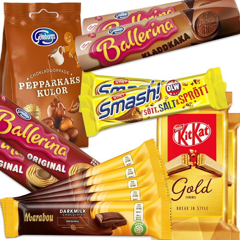 Svenjas Kak-Choklad-Lover Paket - 67% rabatt
