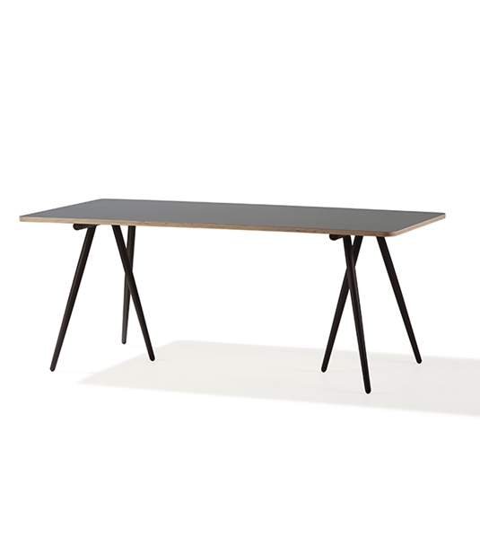 Turn bordunderede 180 x 90 cm brun, Cane-line