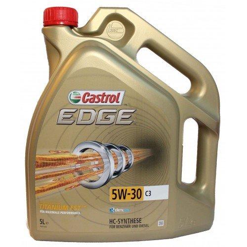 Moottoriöljy CASTROL 5W30 EDGE TITANIUM FST C3 5L