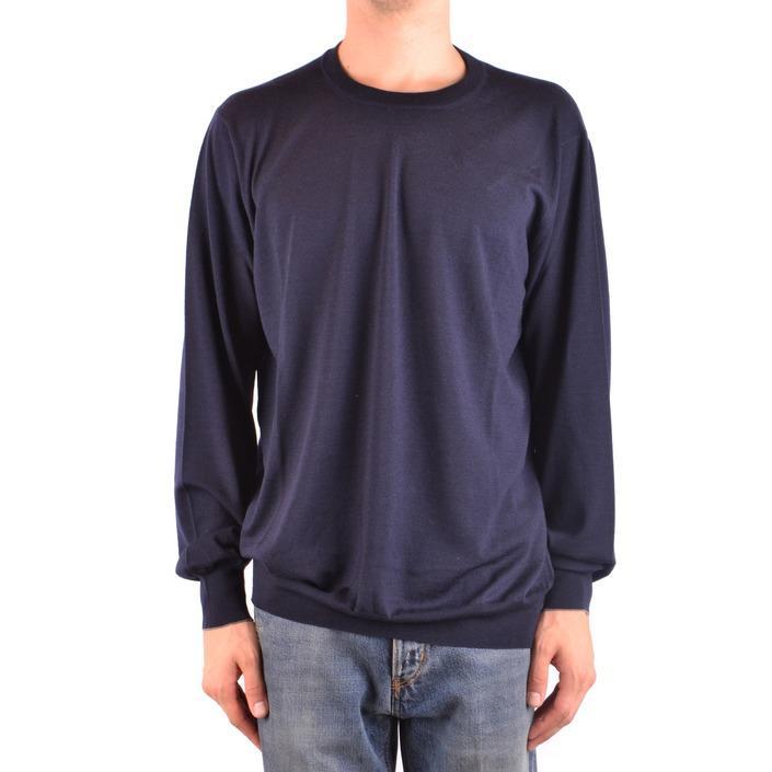 Brunello Cucinelli Men's Sweater Blue 164183 - blue 58