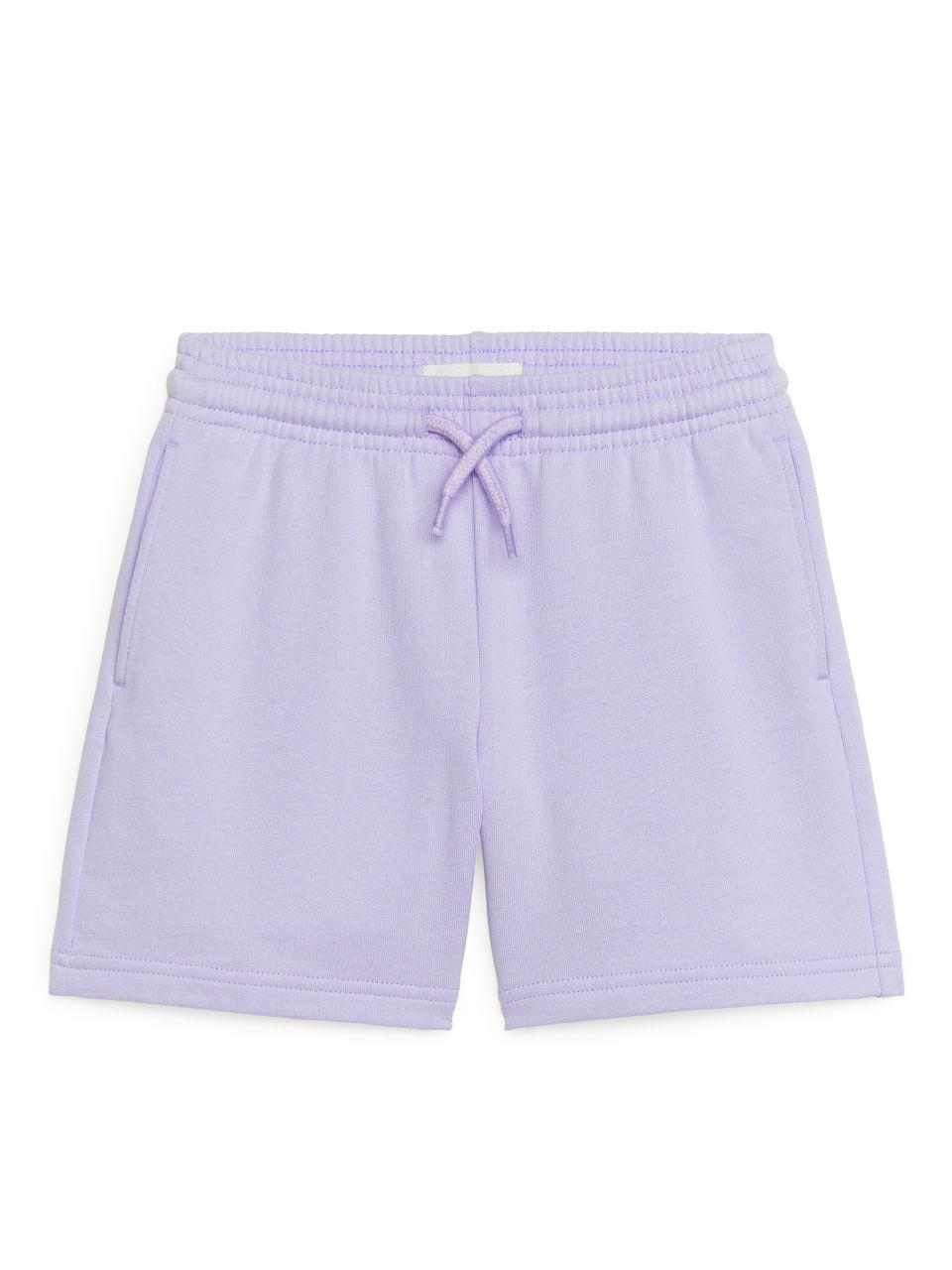 Sweatshirt Shorts - Purple