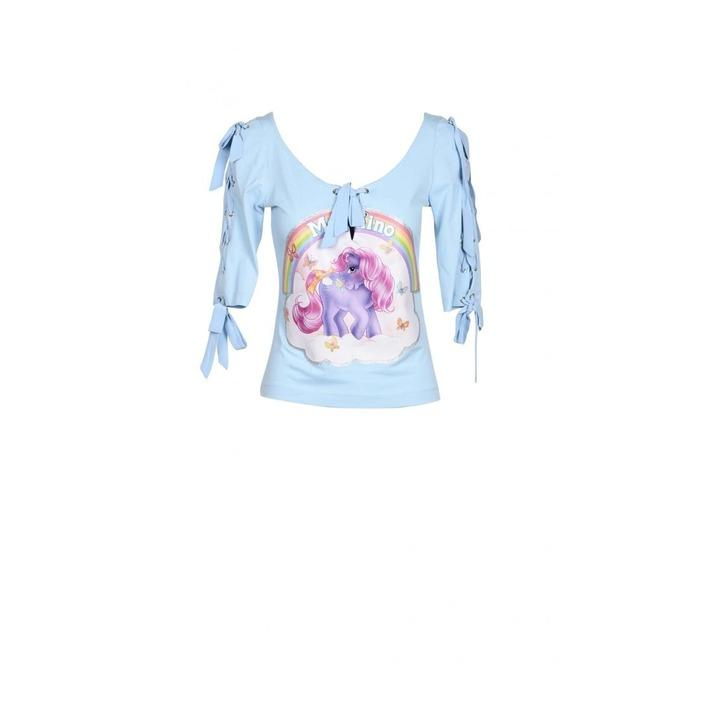 Moschino Couture - Moschino Couture Women T-Shirt - light blue 38
