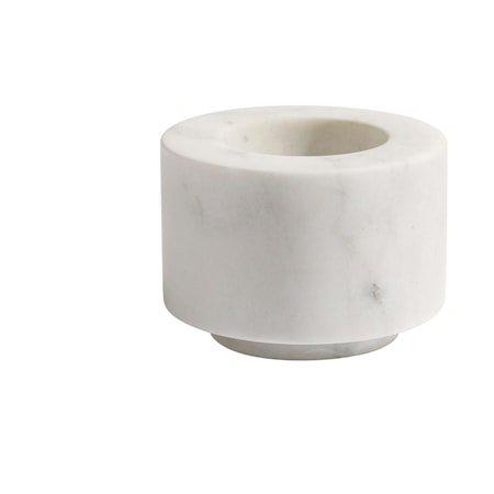 Pico Lysestake White Marble 5x7 cm