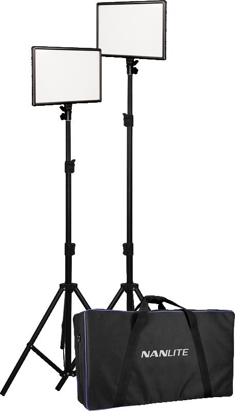 Nanlite - 25 LED 2 LIGHT KIT WITH STAND