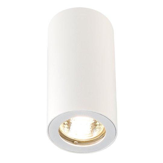 1-lamppuinen kattovalaisin ENOLA_B CL-1, valkoinen