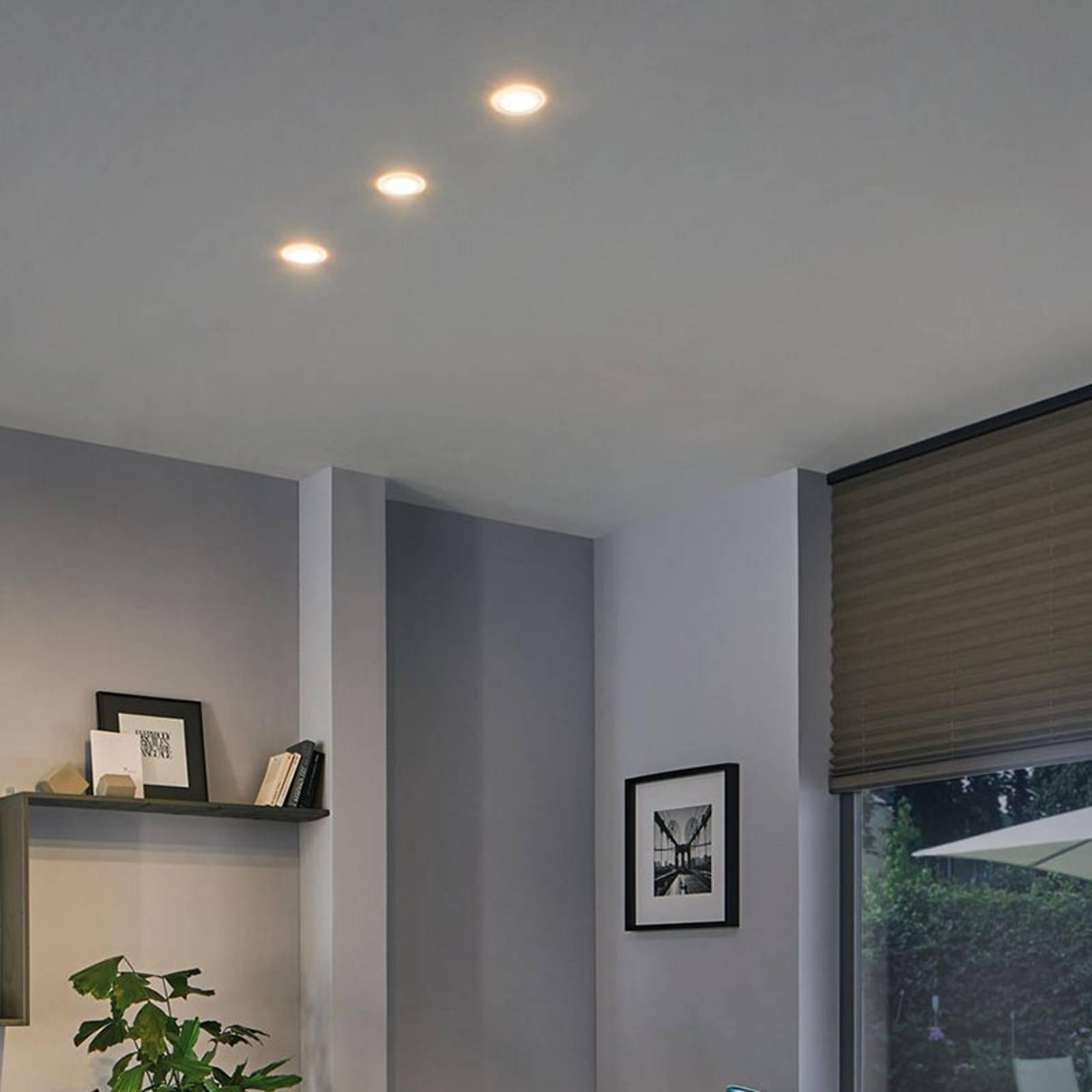Paulmann Suon -LED-uppovalo, himmennettävä, 3 kpl