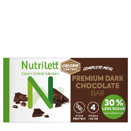 Nutrilett Premium Dark Chocolate 60 g, 4-pack