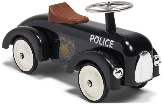 Mini Speeders Gåbil Politi, Svart