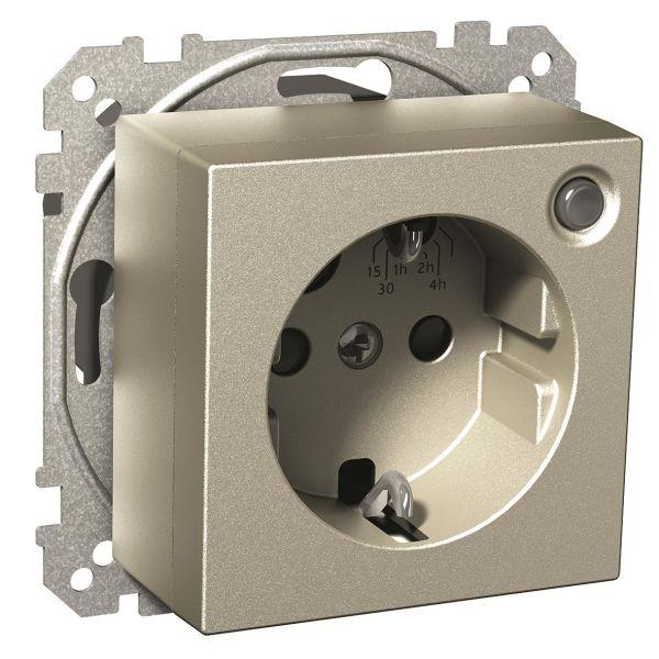 Schneider Electric Exxact Timer 2-polet, med 1-veisuttak Metall