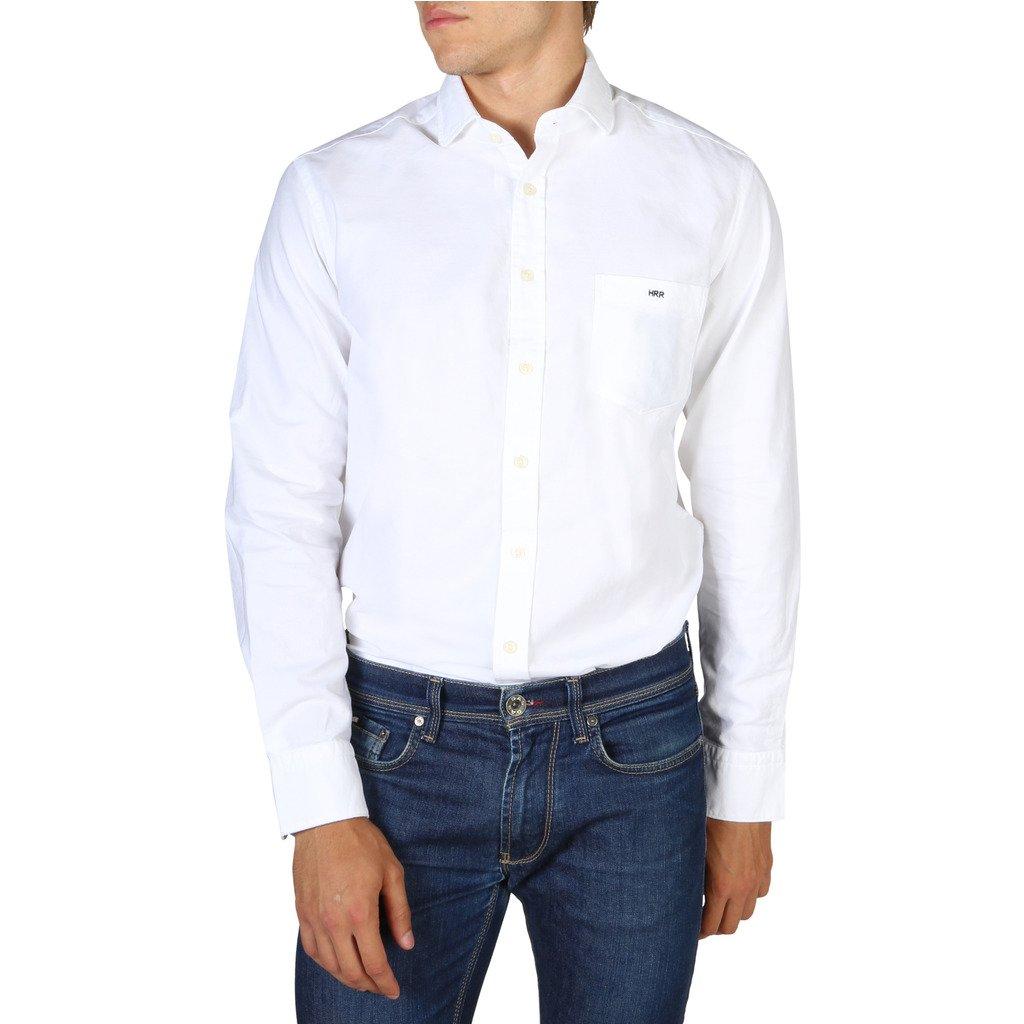 Hackett Men's Shirt White HM307703 - white XS