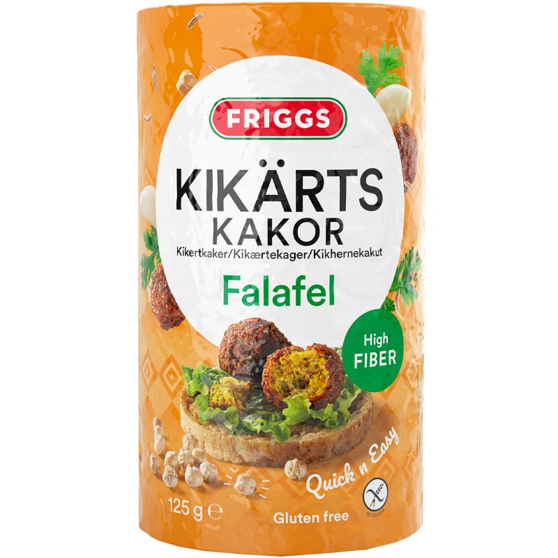 Kikärtskakor Falafel - 63% rabatt