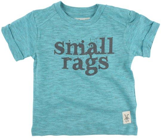 Small Rags T-skjorte, Turq Melange str 68