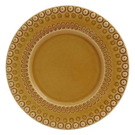 DAISY Desserttallerken Gul 22 cm