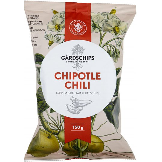"Chips ""Chipotle"" 150g - 37% rabatt"