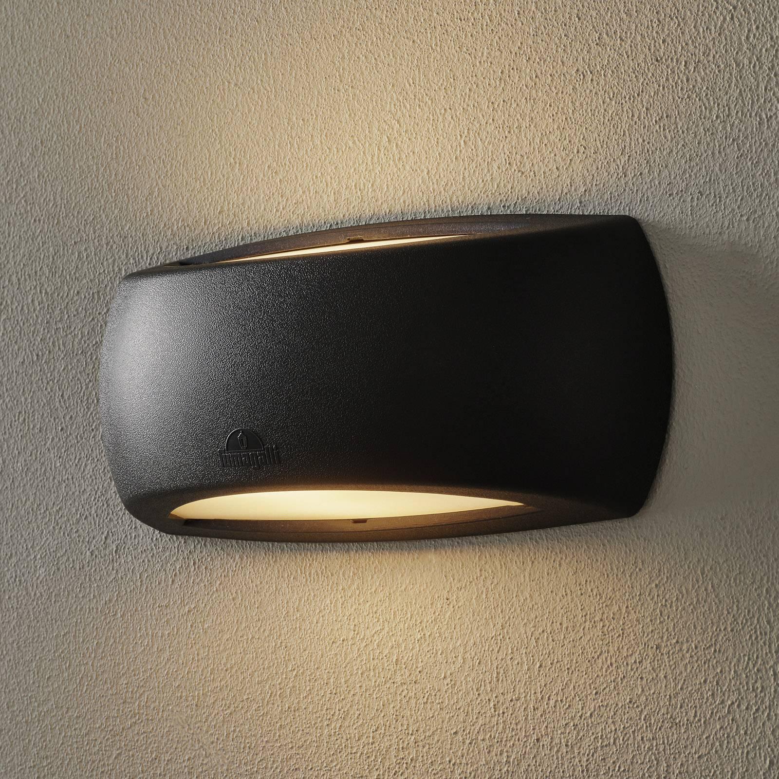 LED-vegglampe Francy Up/Down 6W 2 700 K svart