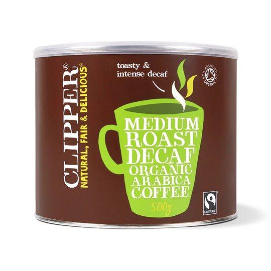 Clipper Medium Roast Decaf Organic Arabica Coffee, 500 g