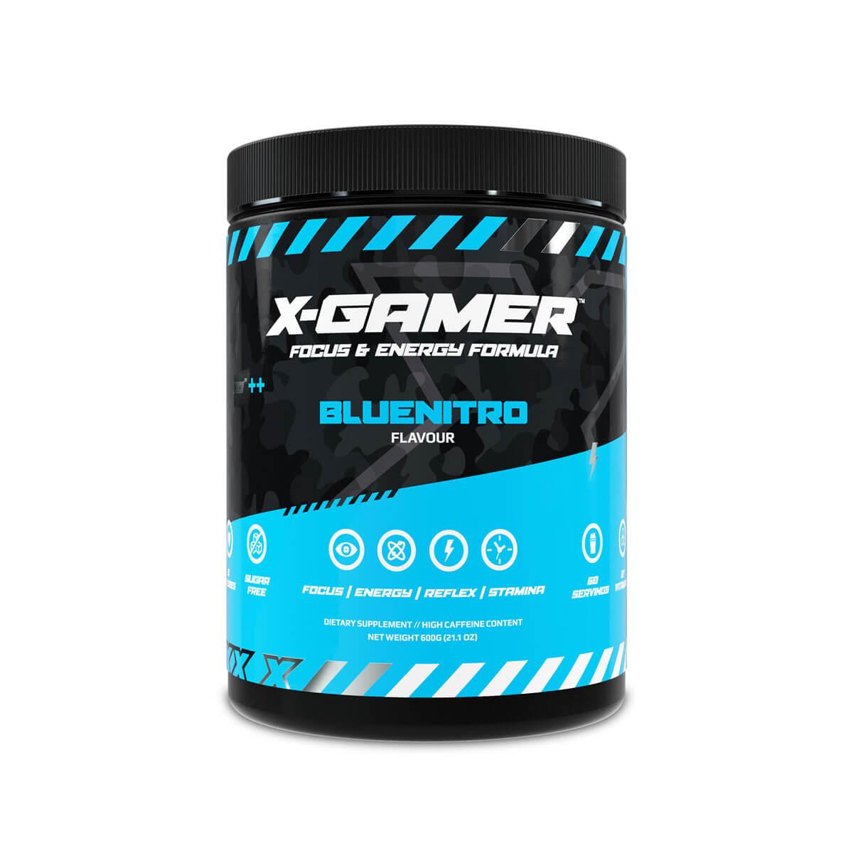 X-GAMER X-Tubz Bluenitro 600g