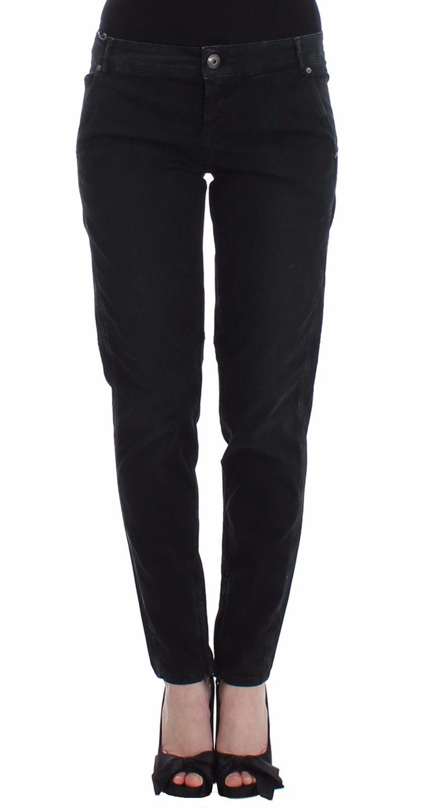 Ermanno Scervino Women's Skinny Leg Jeans Black SIG12461 - W34