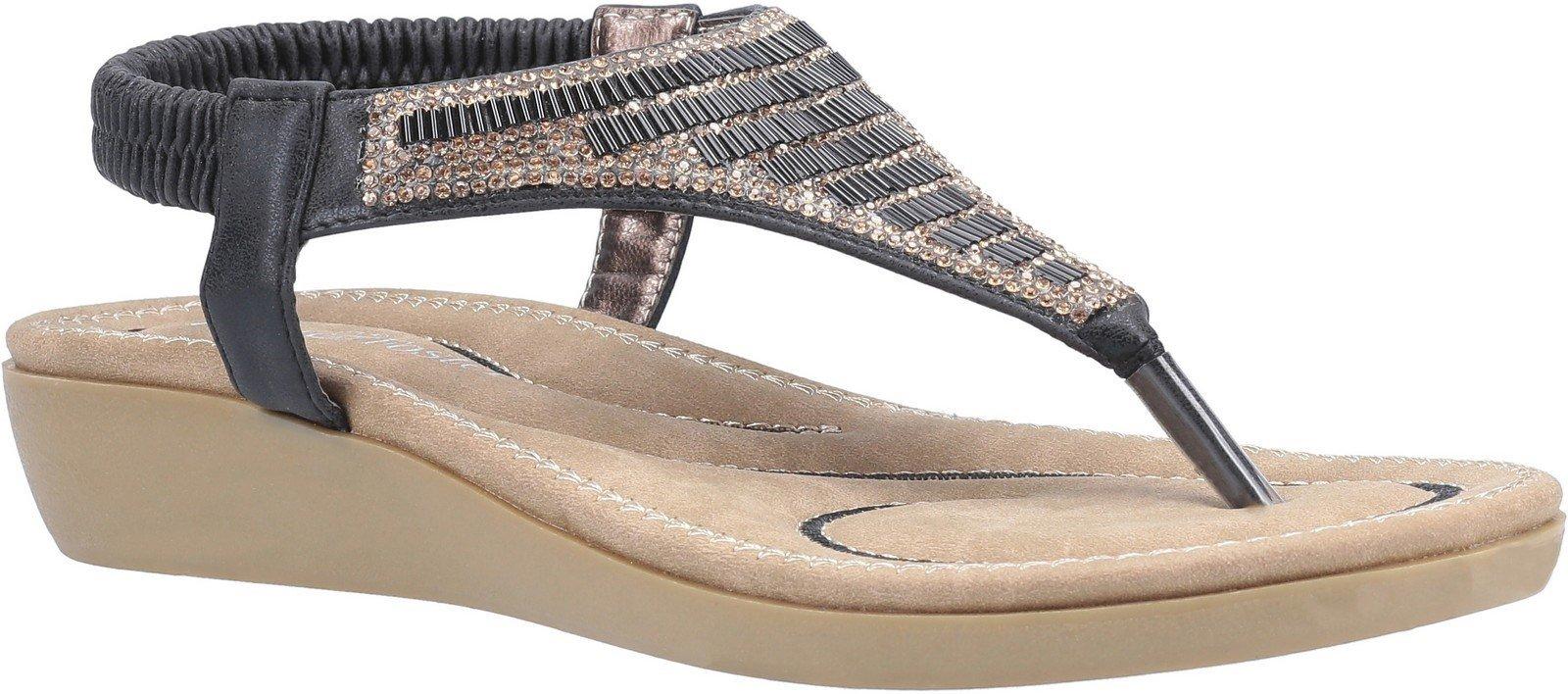 Fleet & Foster Women's Lianne Slip On Sandal Various Colours 30098 - Black 5