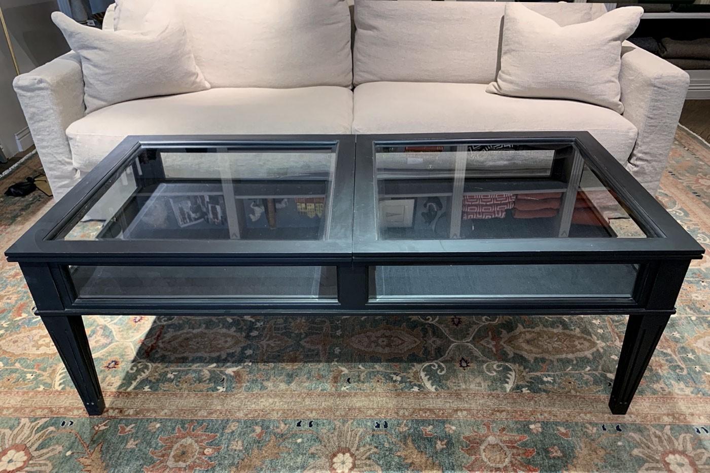 Soffbord med förvaring 140x70 cm