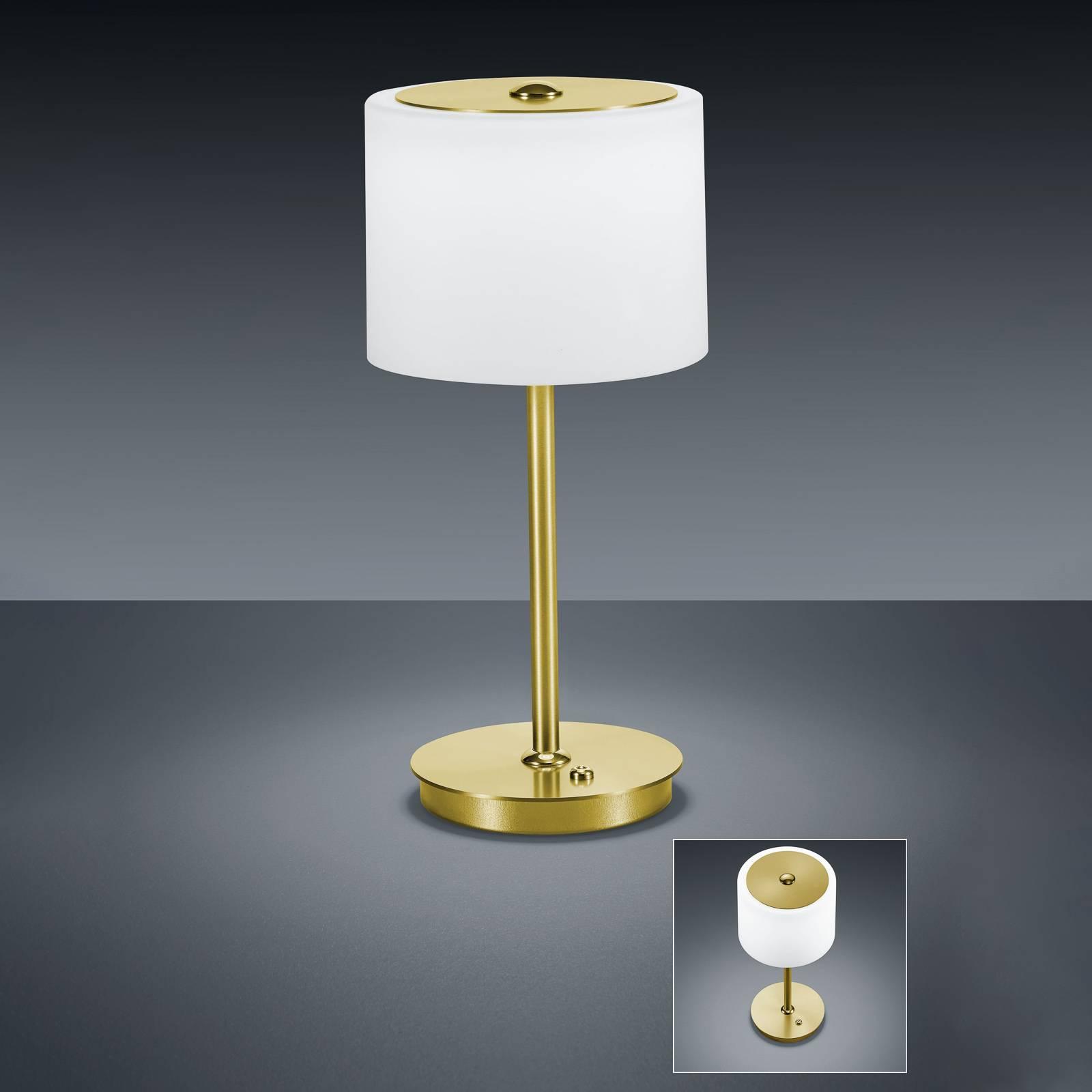 BANKAMP Grazia LED-pöytälamppu ZigBee, messinki