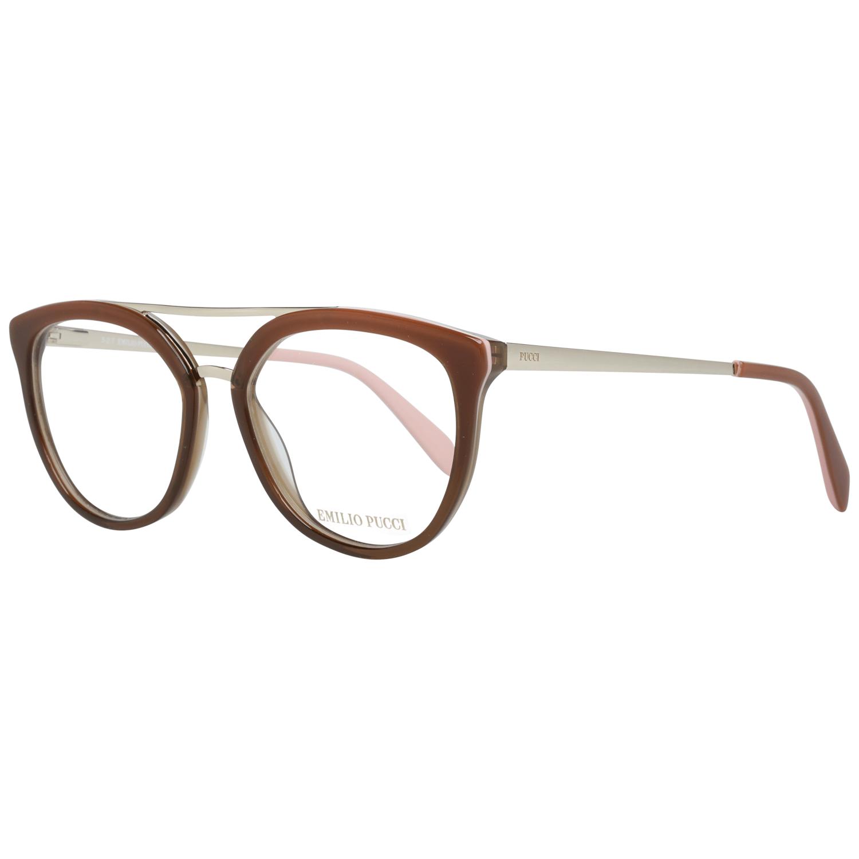 Emilio Pucci Women's Optical Frames Eyewear Brown EP5072 52071