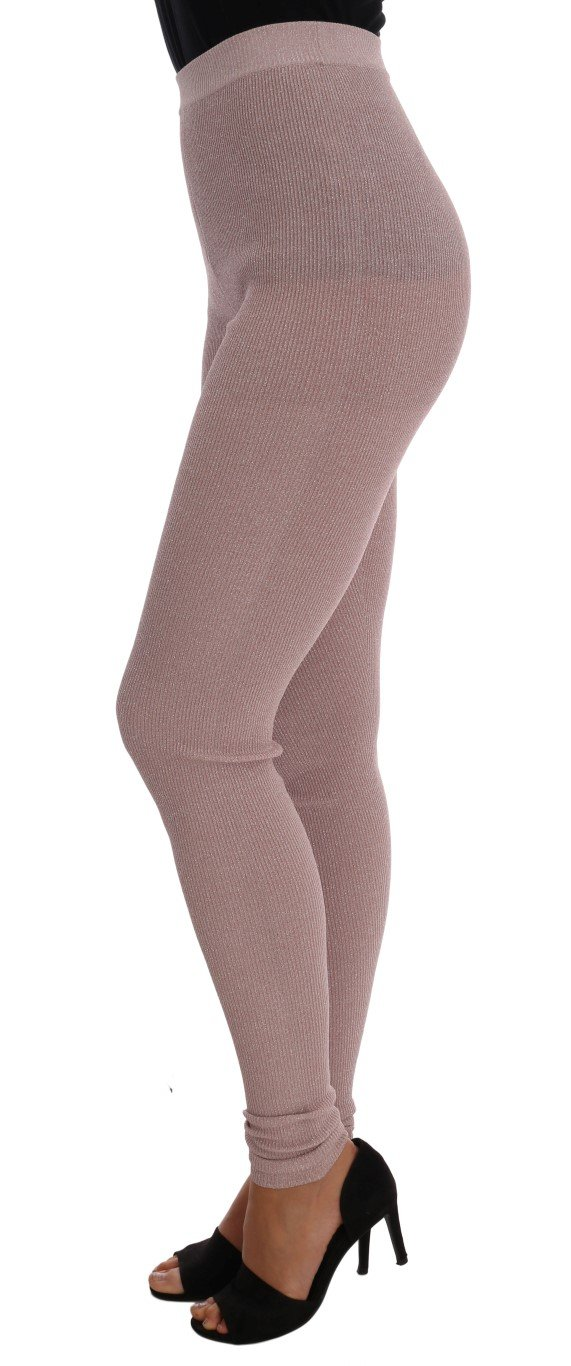Dolce & Gabbana Women's Tights Pink SCS208 - IT40 S
