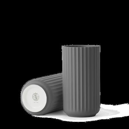 Vase Porselen Mørkegrå 25cm