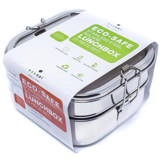 Ecozoi Bento Matlåda Rostfritt stål - 3 lager, 1,47 L