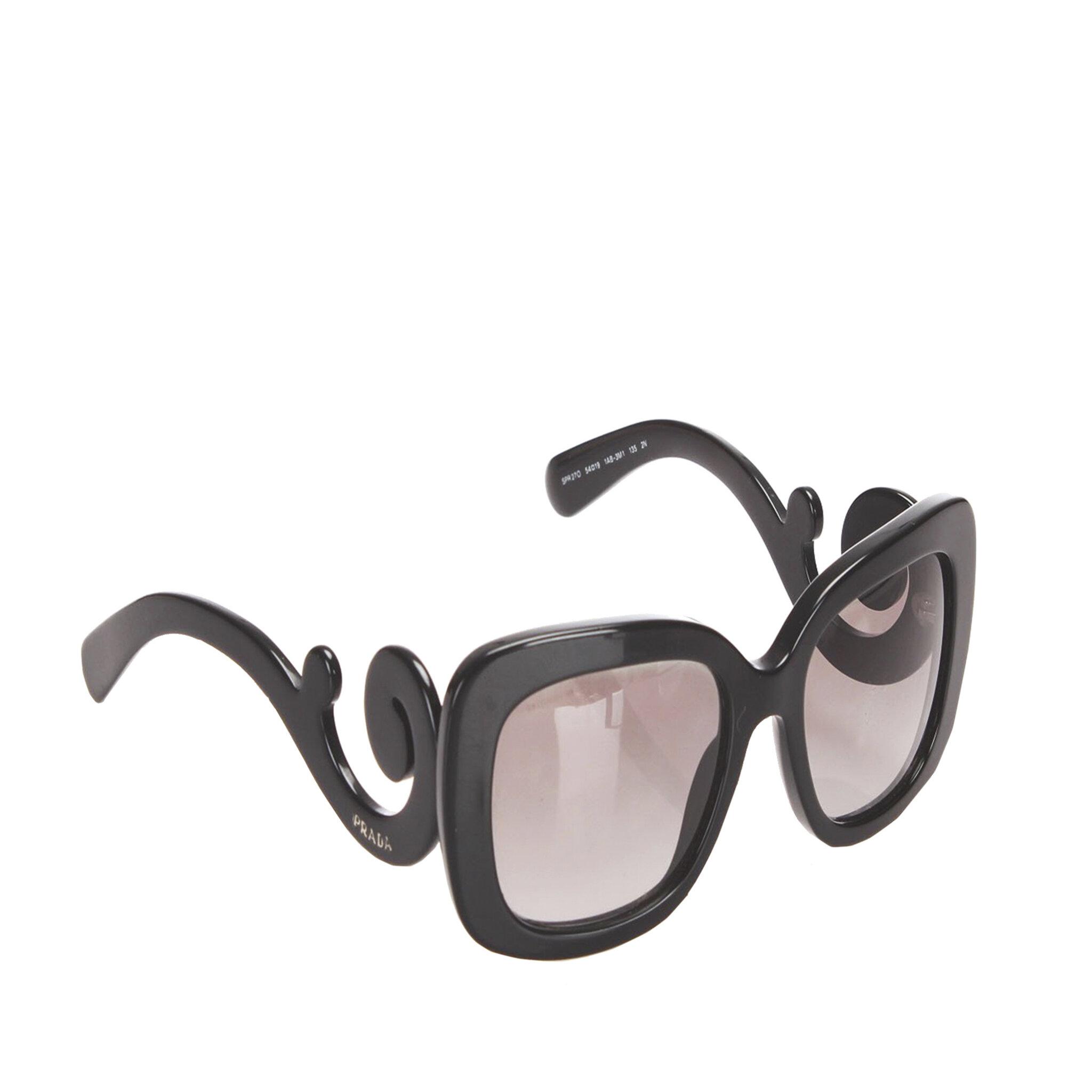 Prada Baroque Square Sunglasses, ONESIZE