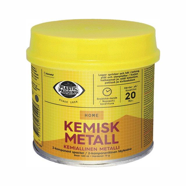 PLASTIC PADD KEMISK METALL