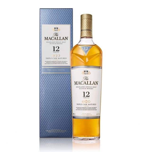 Macallan Triple Cask 12 Years Old Single Malt Whisky 70cl