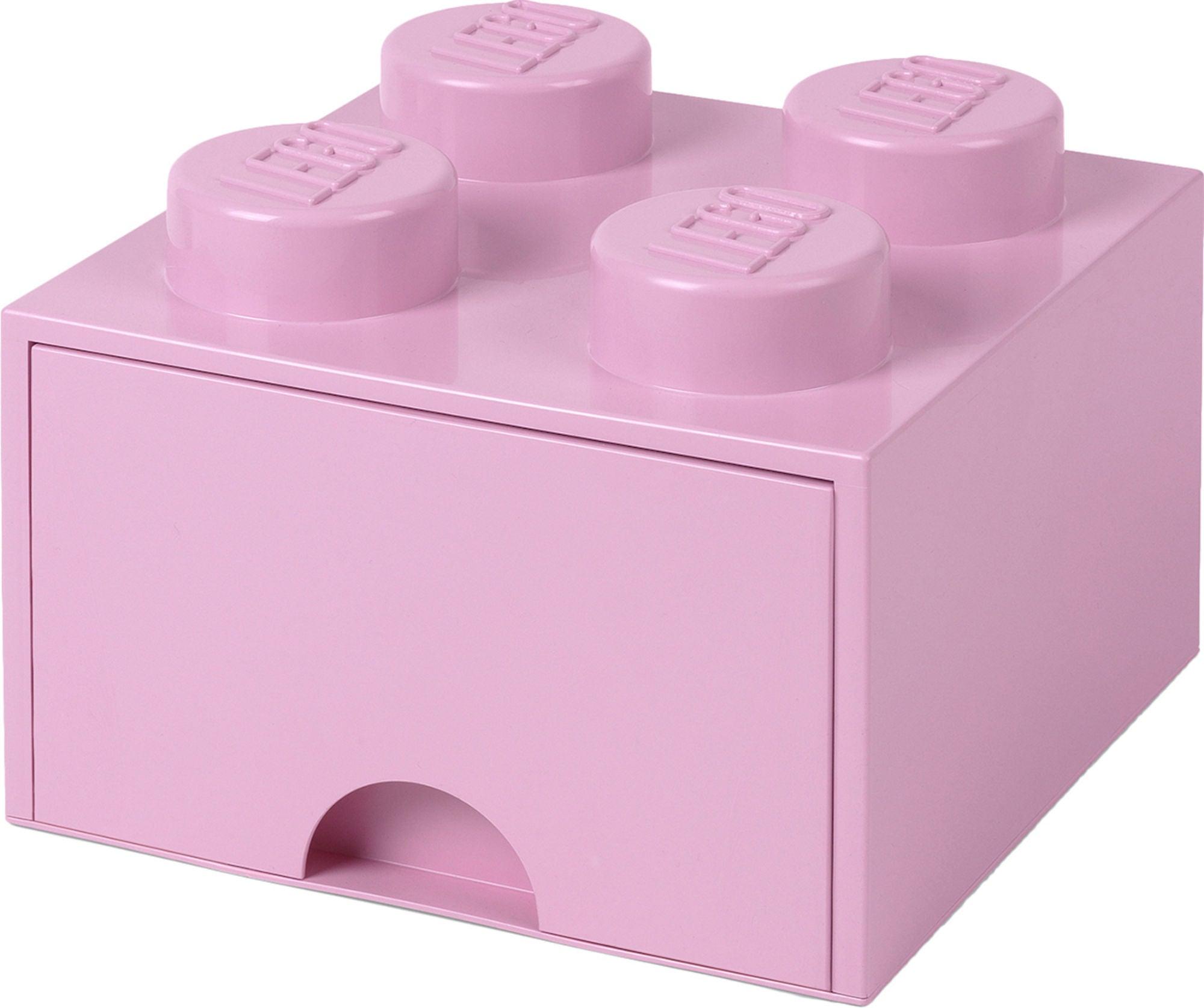 LEGO Säilytyslaatikko 4, Vaaleanpunainen
