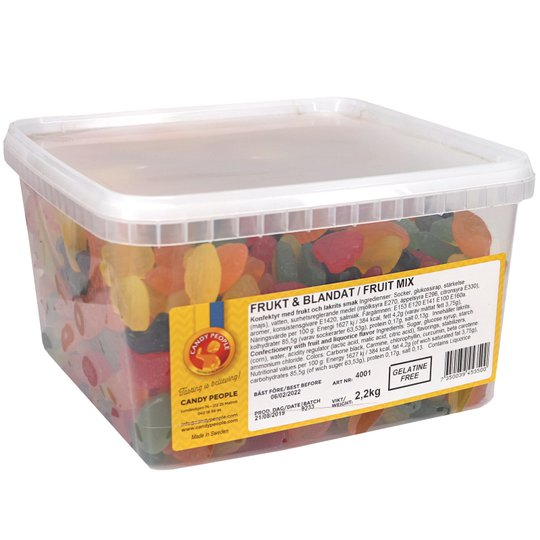 Godis Frukt & Lakrits - 45% rabatt