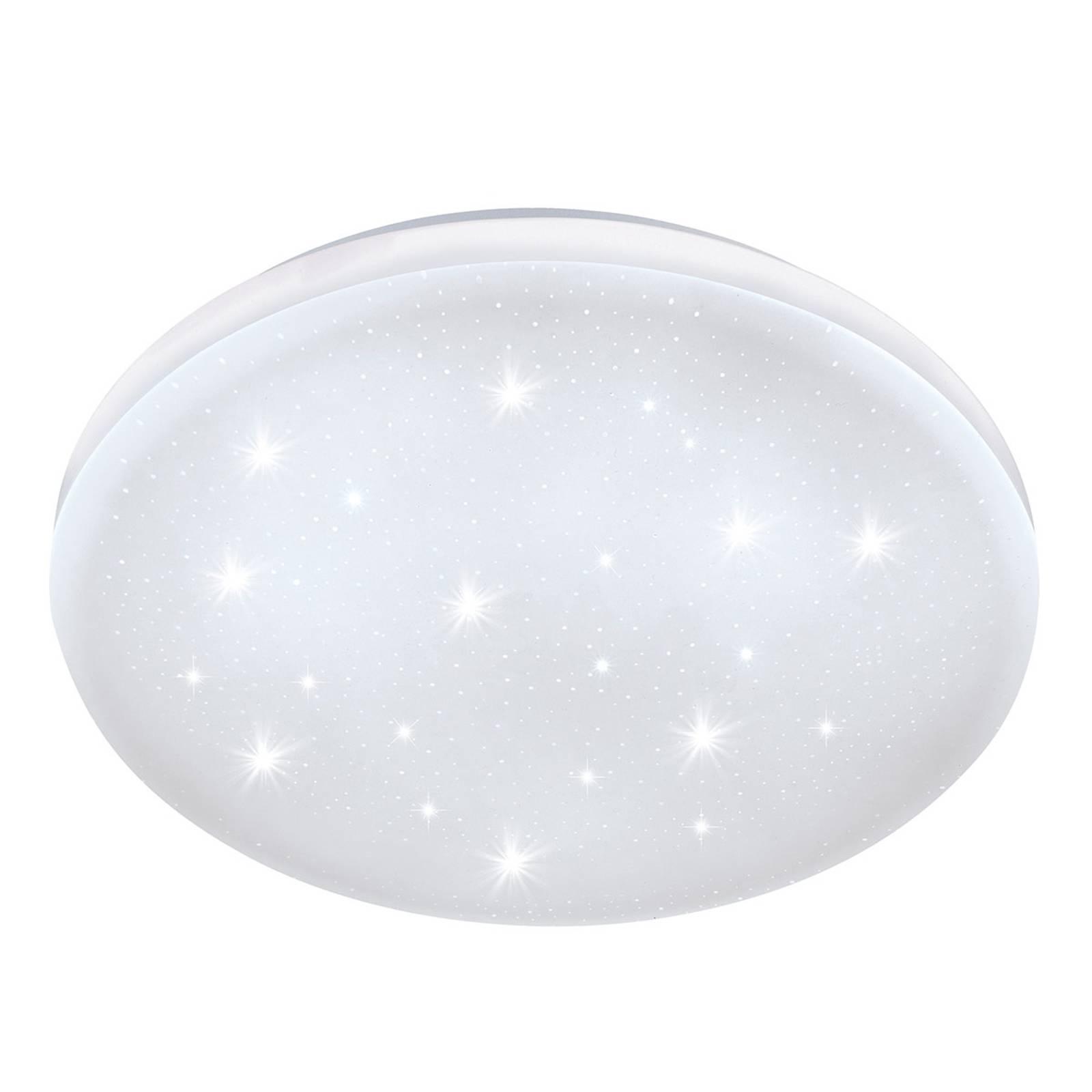 Frania-S -LED-kattovalo kristallitehostein Ø 28 cm