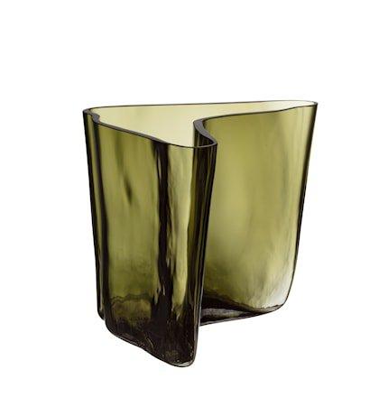Aalto Vase 175x140 mm Mosegrønn