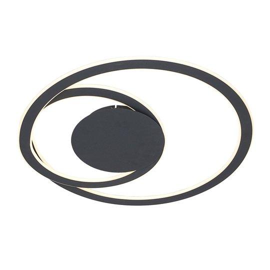 Lindby Favio -LED-kattovalaisin, himmennys, Ø 66cm