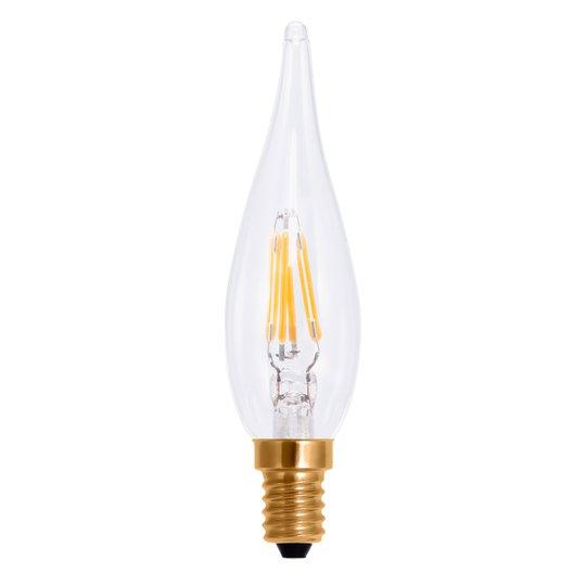 LED-filamentti-kynttilälamppu E10 1,5 W
