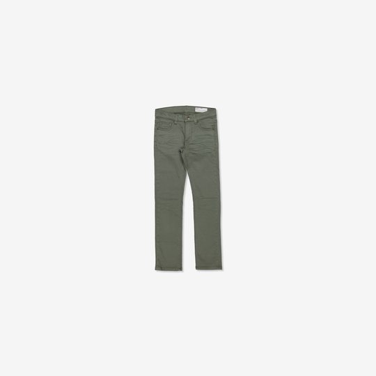 Jeans slim grønn