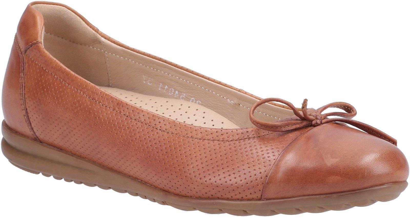 Hush Puppies Women's Jolene Slip On Shoes Various Colours 31189 - Tan 3