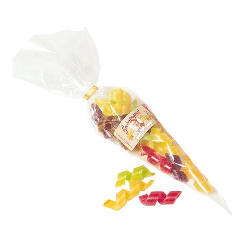 Fruktspån i Godisstrut - 100 gam