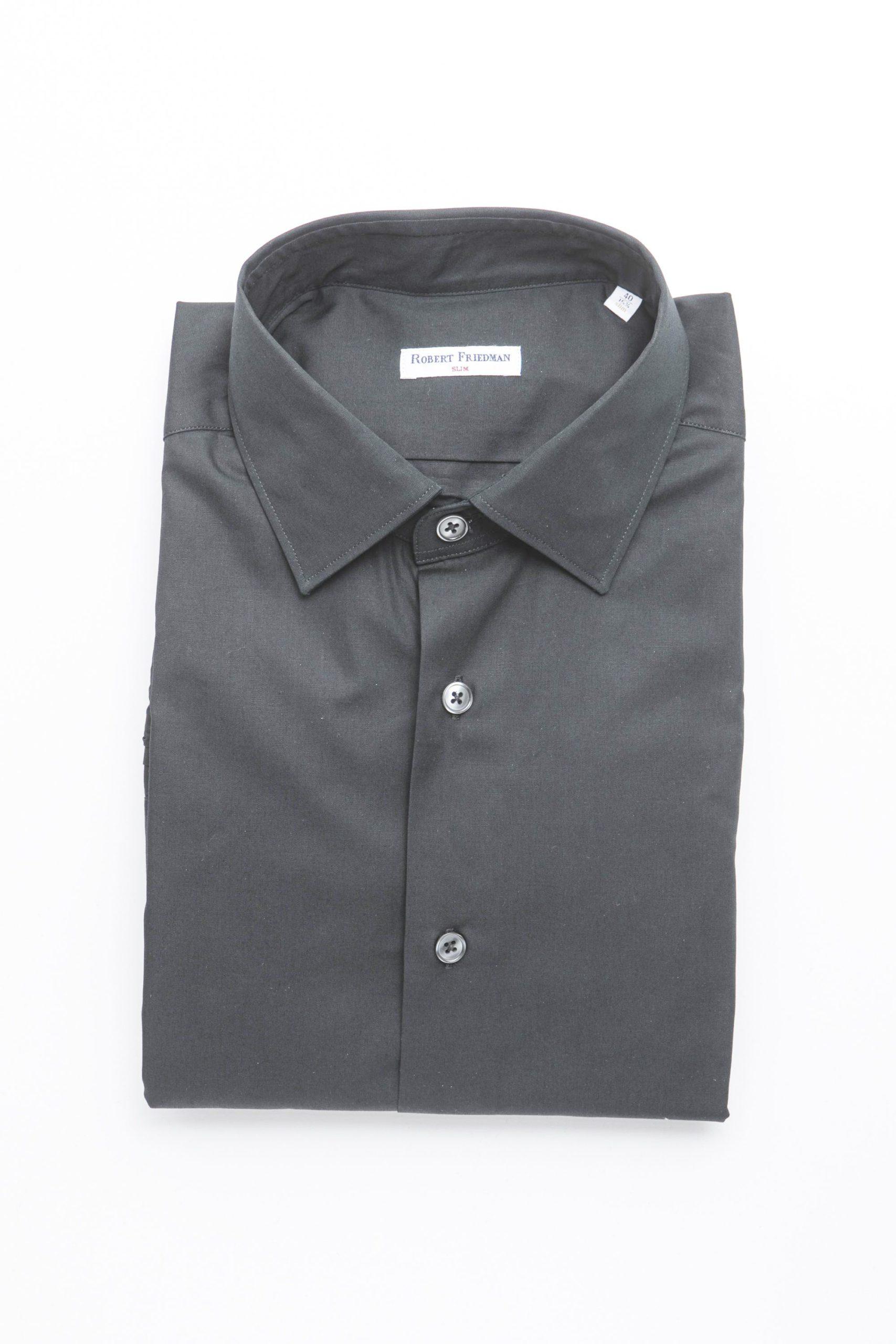 Robert Friedman Men's Shirt Black RO1395005 - IT46 | S