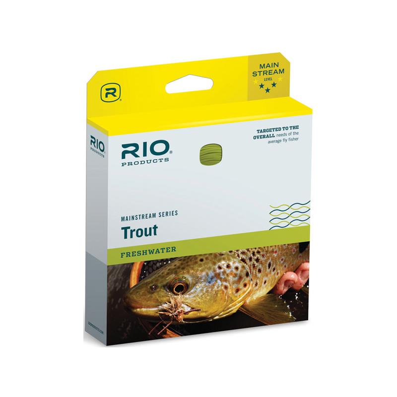 Rio Mainstream Trout WF #8 - Flyt/Synk3